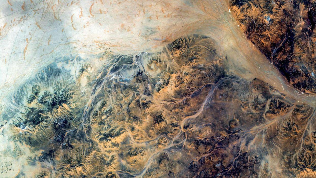 Google Earth Satellite View of Namibia